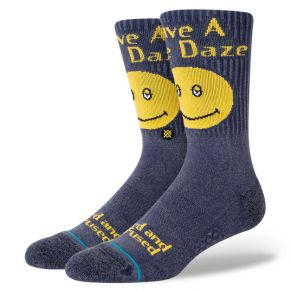 Stance Mens Mid Cushion Crew Sock - Have a Nice Daze Left View