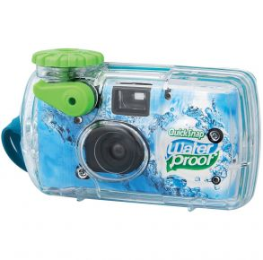 Fujifilm QuickSnap Disposable Water-Resistant Film Camera Front View