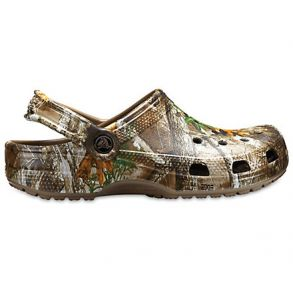 Crocs Classic Realtree Edge Clog Shoe Right Side View