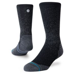 Stance Run Crew St Sock Front View