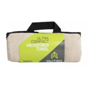 McNett Tactical Ultra Compact Microfiber Towels - Sand Front View