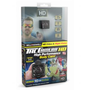 Bell + Howell Tac HD Camera Front View