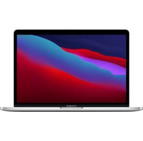 """Apple MacBook Pro 13.3"""" Laptop - Apple M1 chip - 8GB Memory - 256GB SSD - Silver Front View"""