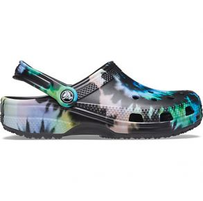 Crocs Classic Tie-Dye Graphic Clog Right Side View