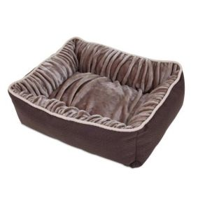 Petmate Dig & Burrow Lounger - Size Small Front View
