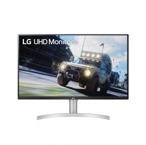 """LG 32"""" Monitor With FreeSync - UHD HDR - Black Front View"""