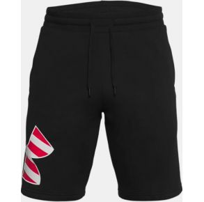 Under Armour Mens UA Freedom Rival Big Flag Logo Shorts Front View