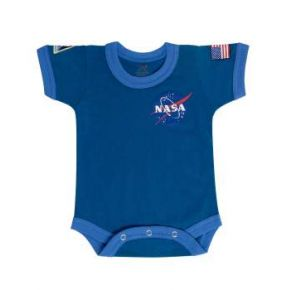 Rothco Infant NASA One-Piece Bodysuit Front View