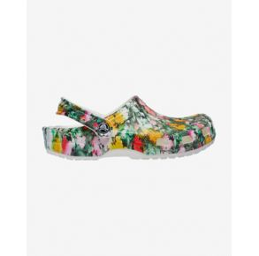 Crocs Classic Printed Floral Clog Right Side view