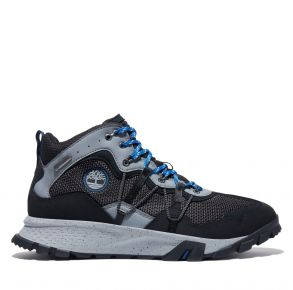 Timberland Mens Garrison Trail Waterproof Mid Hiker Shoe Right Side View