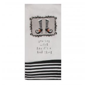 KAY DEE DESIGNS Kitchen Towel - You Say Witch Like It's A Bad Thing  Front View