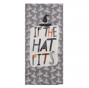 KAY DEE DESIGNS Kitchen Towel - If The Hat Fits Front View