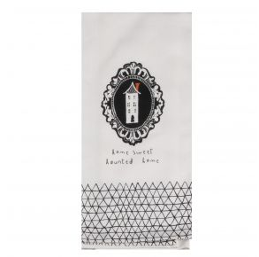 KAY DEE DESIGNS Kitchen Towel - Home Sweet Haunted Home Front View