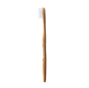 THE HUMBLE CO. Humble Brush - Adult - White Bristle Front View