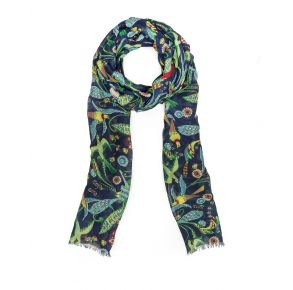 Patricia Nash Scarf - Birds of Paradise Front View
