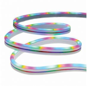 Monster RGB Color-Flow Neon-LED Strip white background view