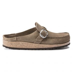 BIRKENSTOCK Buckley Suede Leather Clog Right Side View