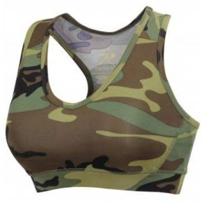 ROTHCO Womens Sports Bra Front Left Angle View