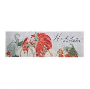 Transpac Hello Autumn Wall Sign Front View