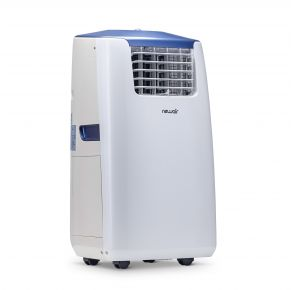 NewAir Portable Air Conditioner and Heater, 14,000 BTUs left angle view