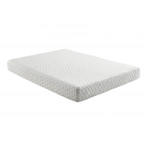 "Grey Early Bird 8"" Medium Memory Foam Mattress - Size Full full angle view"