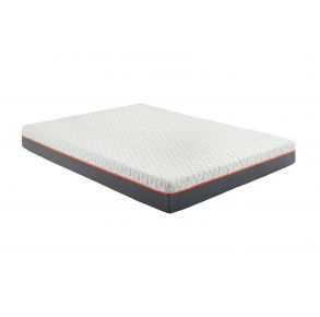"Early Bird 10"" Medium Memory Foam Mattress - Queen - Gray/Charcoal full angle view"