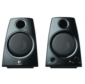 Logitech 3.5mm Jack Compact Laptop Speakers Z130
