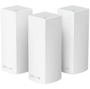Linksys Velop Tri-Band Whole Home Wi-Fi Mesh System - 3 pack