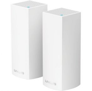Linksys Velop Tri-Band Whole Home Wi-Fi Mesh System - 2 pack