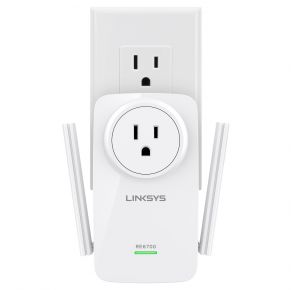 LINKSYS AC1200 Amplify Dual-band Wi-Fi Range Extender with Spotfinder
