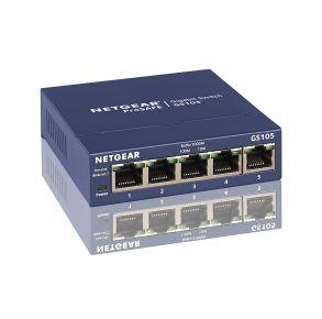 NETGEAR GS105NA 5-Port Gigabit Ethernet Network Switch
