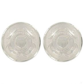 Coast Guard Auxiliary Buttons: Cap Buttons Screw Back