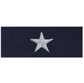 ODU Sew On Collar Device 1 Star Admiral