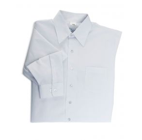 Men's White Long Sleeve Dress Shirt