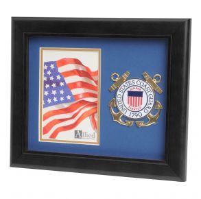 USCG Medallion Portrait Picture Frame