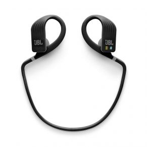 JBL Endurance Dive Wireless in-Ear Sport Headphones with MP3 Player - Black Front View