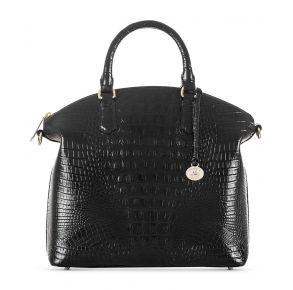 Brahmin Large Duxbury Satchel Handbag Front View