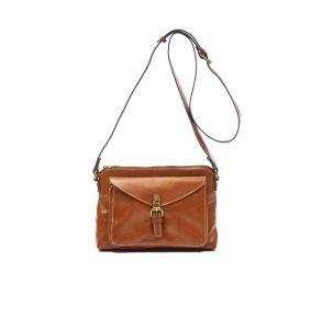Patricia Nash Avellino Crossbody Handbag - Tan Front View