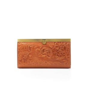 Patricia Nash Tooled Cauchy Wallet - Florence Front View