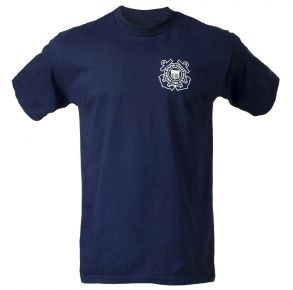 Coast Guard Mens Search & Rescue Short Sleeve T-Shirt Front View
