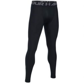 Under Armour Mens HeatGear Armour 2.0 Compression Leggings Front View