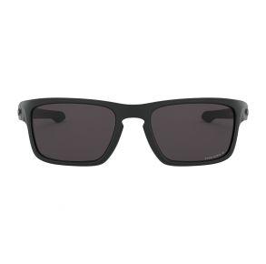 Oakley Standard Issue Sliver Stealth Matte Black  Frame - Prizm Gray Lens -  Non Polarized Sunglasses Front View