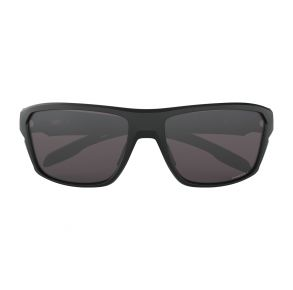 Oakley Standard Issue Split Shot Matte Black Frame - Prizm Gray Lens - Non Polarized Sunglasses Front View
