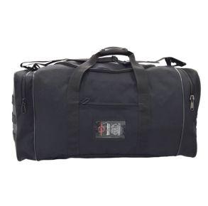 Flying Circle Goliad Large Backpack Duffle Bag - Black Back View