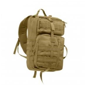 Rothco Tactisling Transport Pack - Coyote Brown Front View