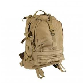 Rothco Large Transport Pack - Coyote Brown Front View