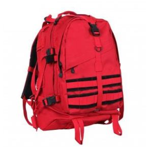 Rothco Large Transport Pack - Red Front View