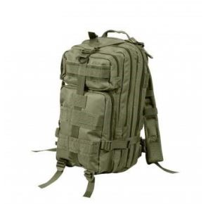 Rothco Medium Transport Pack - Olive Drab Left Side Slight Angle View