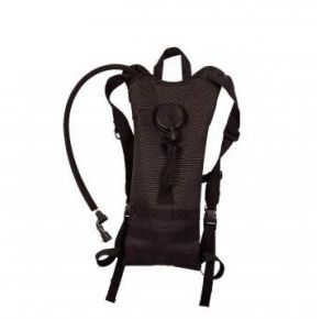 Rothco MOLLE 3 Liter Backstrap Hydration System - Black Front View