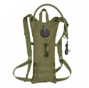 Rothco MOLLE 3 Liter Backstrap Hydration System - Olive Drab Front View